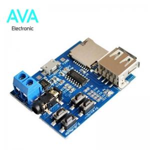 ماژول MP3 Player با پشتیبانی از Flash Memory و microSD Card