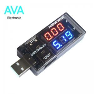 نمایشگر ولتاژ و جریان USB