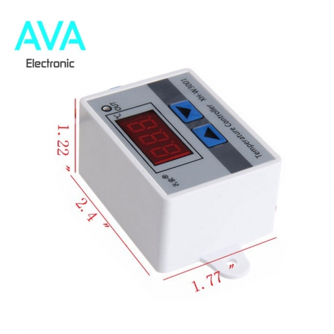 ماژول کنترل دما با خروجی رله XH-W3001