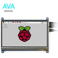 نمایشگر 7 اینچ همراه با تاچ خازنی