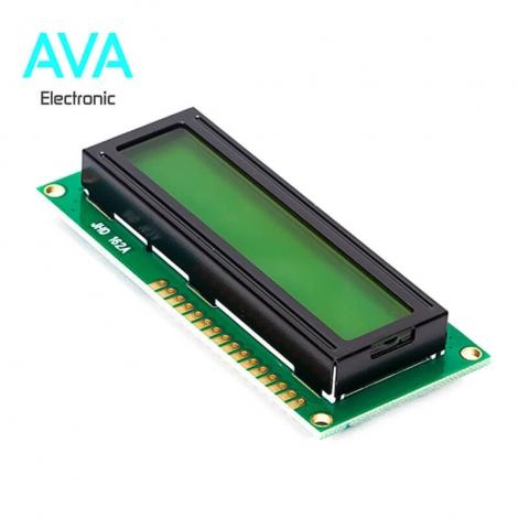 LCD کاراکتری 16x2 بک لایت سبز