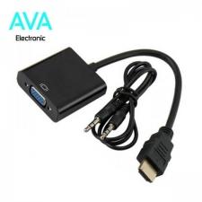 کابل تبدیل HDMI به VGA با خروجی صدا