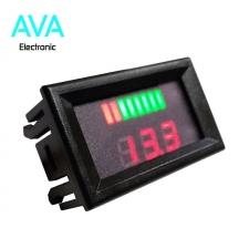 ولتمتر و نمایشگر باراگرافی ظرفیت باتری