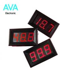 ولتمتر DC دیجیتالی 0 تا 300 ولت پنلی قرمز رنگ