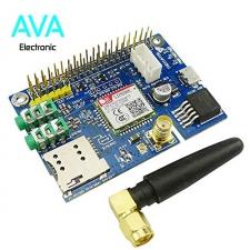 شیلد sim800C مخصوص رزبری پای Raspberry Pi GSM Shield به همراه آنتن
