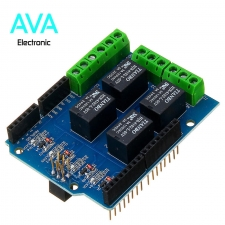 شیلد رله ۴ کانال آردوینو Arduino Relay Shield