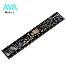 PCB رفرنس (خط کش) شامل انواع پکیج های قطعات الکترونیک