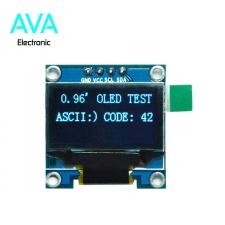 ماژول OLED 0.96 inch I2C آبی رنگ رزولیشن 128x64