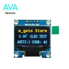 ماژول OLED 0.96 I2C دو رنگ زرد-آبی رزولیشن 128x64