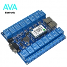 ماژول رله 16 کاناله SW16 با قابلیت کنترل از طریق شبکه ( LAN )