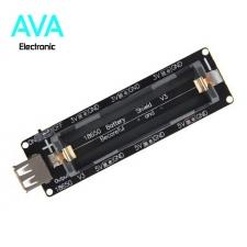 ماژول شارژر و دشارژر باتری لیتیوم یون با خروجی 5V 2A USB