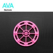 چرخ پروانه ای مناسب برای گیربکس زرد با قطر 52 میلی متر