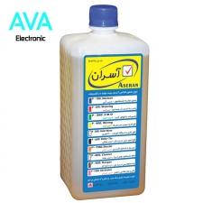 مایع فلاکس یک لیتری آسران درب آبی